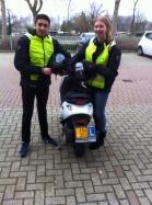 Bromfiets rijles Haarlem