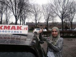 Geslaagd bij Rijschool Cakmak Haarlem
